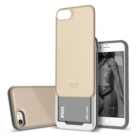 [DESIGN SKIN] 아이폰7 슬라이더 골드플래티넘