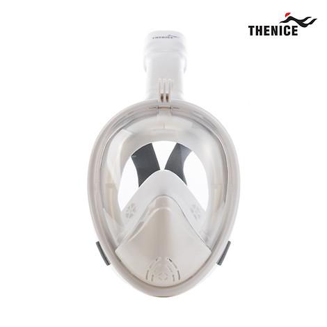 [TheNice] 스노클링 풀페이스 마스크 Premium White L-XL