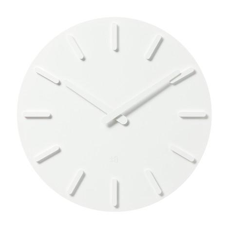 [±0] 오브제 벽시계 X020 White
