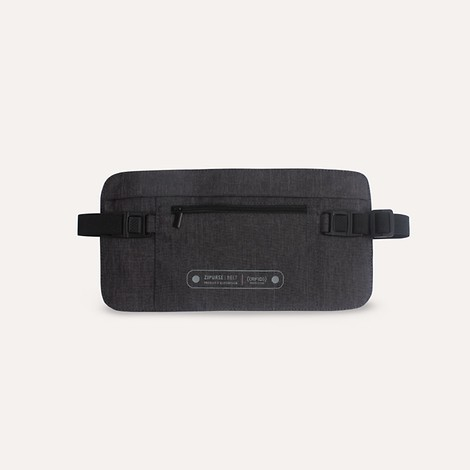 ZIPURSE RFID BELT_D-Gray