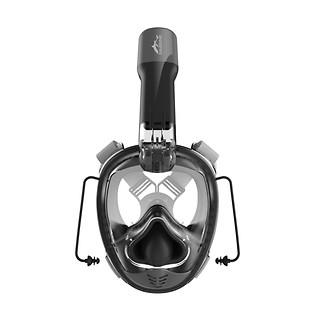 프리다이빙 V3 스노쿨링 마스크-블랙 (이산화탄소 역류&혼합방지 기술)